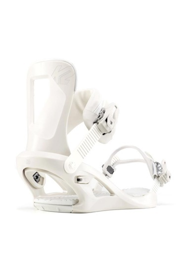 Mytell Mytell 11D1012.2STD K2 Kadın Bedford Kadın Snowboard Bağlaması Beyaz